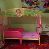 Красивая детская кроватка Disney Princes Америка для девочки от 1годика до 6лет. В наличии!!!