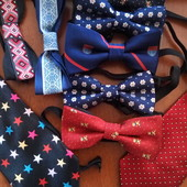 Продам галстуки и бабочки разные модели, галстук мужской