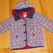 Демисезонная куртка M&S для девочки 4-5 лет, 104-110 см
