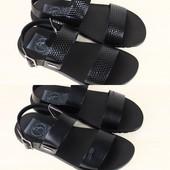 Мужские сандалии натуральная гладкая кожи и питон р. 40-45