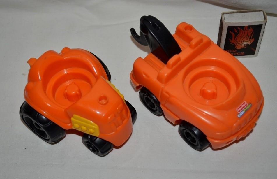 Разные маленькие машинки машины погрузчик трактор little people fisher prise литл пипл фото №1