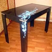 Оригинальный стол ручной работы, дерево