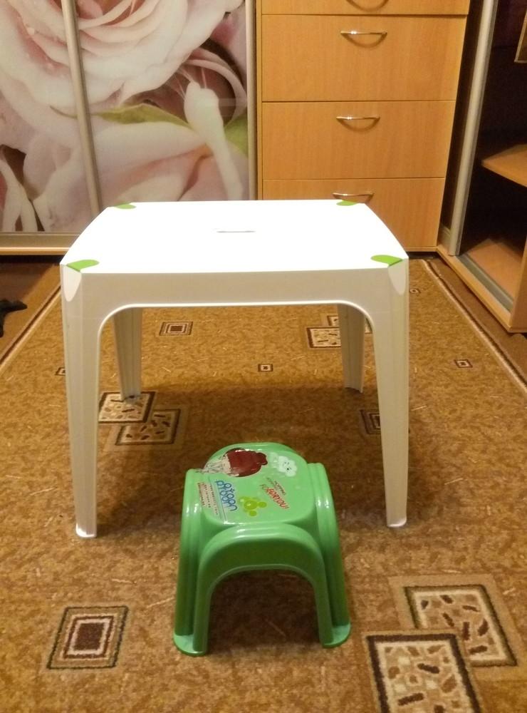 детский стол и стул фото №1