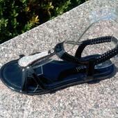 Распродажа !!! Женские босоножки размер 36-40 чёрные