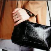 Компактная сумочка на плече, 2 цвета, новая