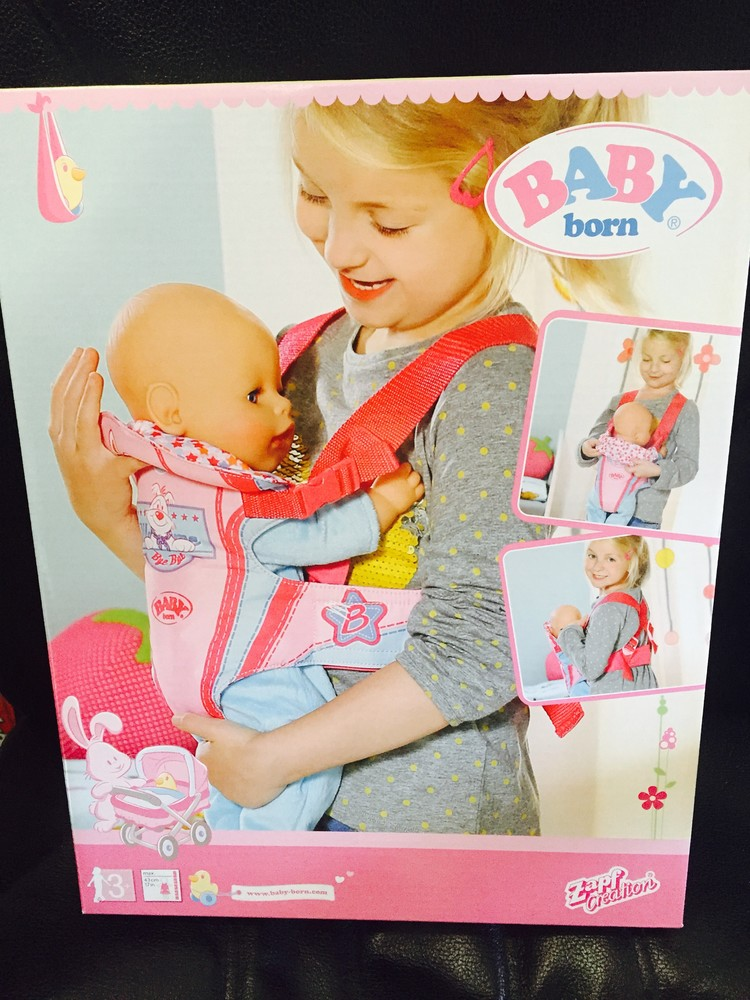 Кенгуру переноска для куклы baby born  фото №1