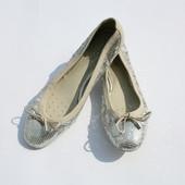 Кожаные балетки Geox