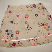 Милая юбка в цветочек Baby Club (86 см )