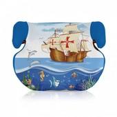 Детское автокресло-бустер Bertoni Teddy  15-36 (blue ship)