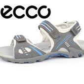 Сандалии женские Ecco Hyper Terrain серые с голубым