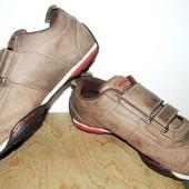 кожаные кроссы 25 см