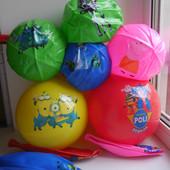 Мяч детский - Пеппа, Миньоны, Робокар, Фрозен, монстер хай, софия