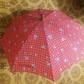 Парасоля зонтик детский красный