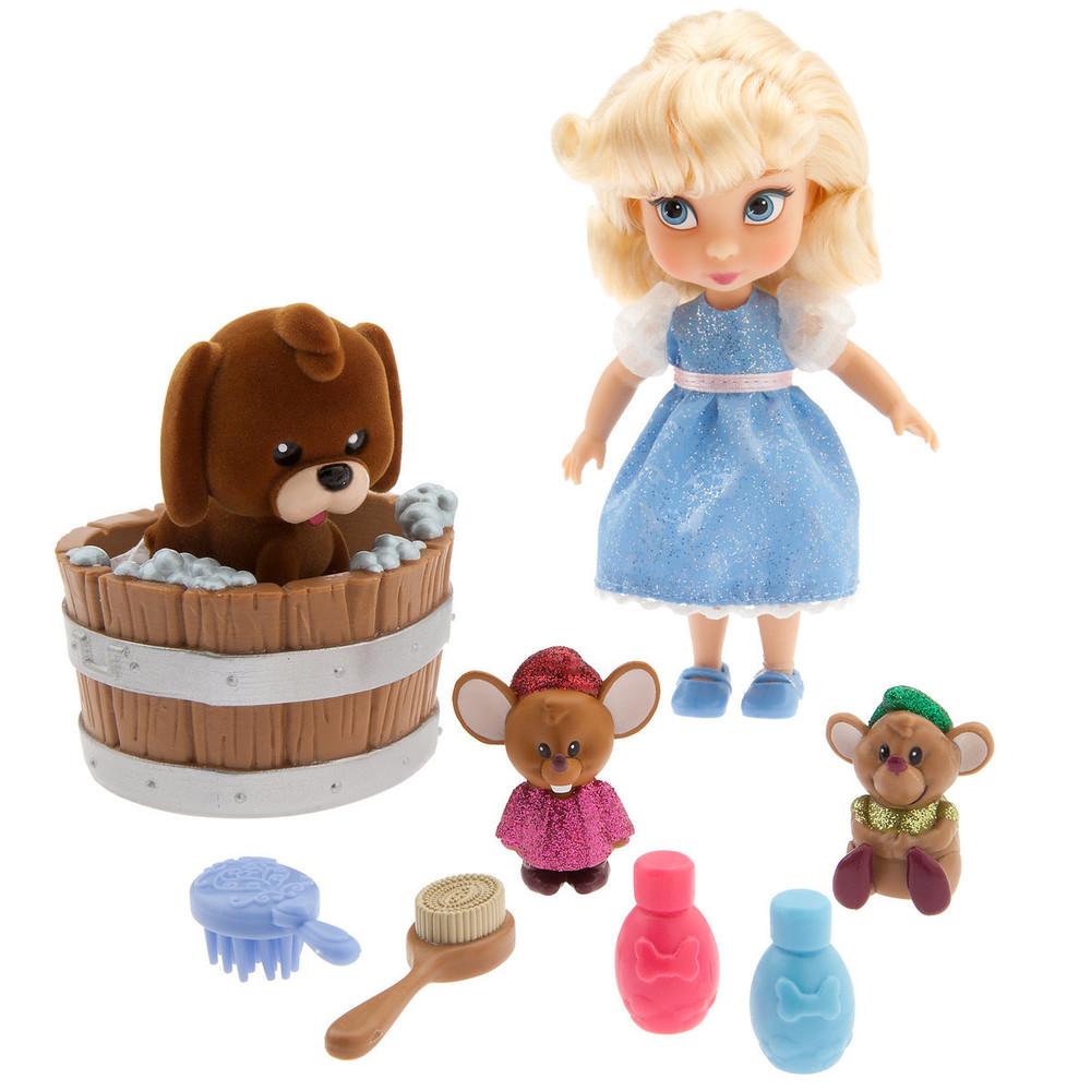 Игровой набор мини кукла золушка с аксессуарами 2018 animators´ collection оригинал disney фото №1