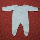 3-6 месяцев, Хлопковый человечек Miniclub, б/у.