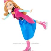 Disney Frozen Ice Skating Anna Doll анна на коньках