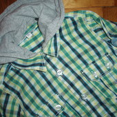 сорочка рубашка з капюшоном