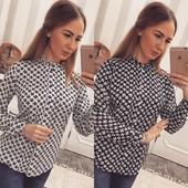 Блуза шифоновая Uz-978