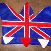 Шляпа колпак для футбольного фана Великобритании