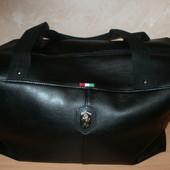 Большая чёрная сумочка