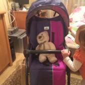 прогулочная коляска cam portofino+москитная сетка и сиденье на стул и качель в подарок