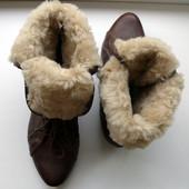 Ботинки на меху Steve Madden, оригинал! Супепцена!