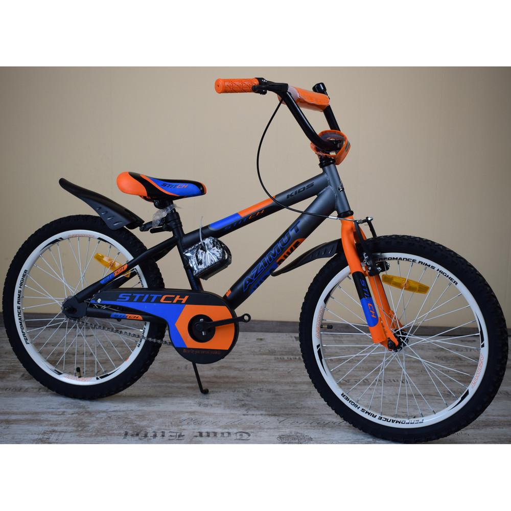 Азимут азимут стич 12 14 16 18  20  дюймов azimut stitch детский двухколесный велосипед фото №1