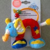 Мягкая игрушка погремушка Слонёнок Canpol Канпол