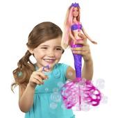 Кукла Barbie Русалочка Сказочные пузыри 29 см