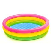 Детский надувной бассейн Intex 58924 надувное мягкое дно