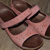 Clarks 36.5-37р Босоножки сандалии, Кожа