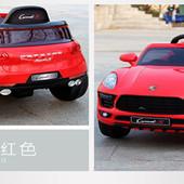 Электромобиль детский 1518 Porsche Порш красный