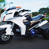 Мотоцикл детский белый