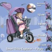 Трёхколёсный велосипед smart trike explorer 5 в 1