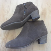 Ботинки Clarks, размер 39,5.