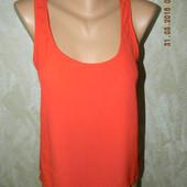 Натуральная летняя блуза-майка