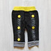 Стильные джинсы для модника или модницы. No name. Размер указан детский М, ориентировочно на 6-12 м