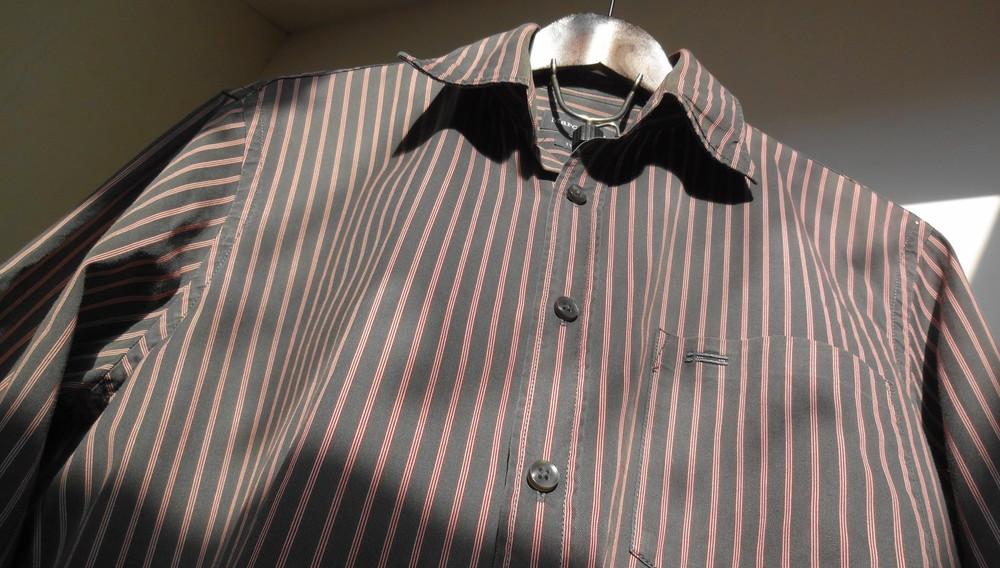 Marc O'Polo. Моднейшая полосатая рубашка. two-ply фото №1