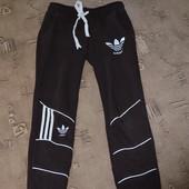 спортивные штаны adidas украина, внутри начес, размер С