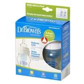 Бутылочка для кормления Dr. Brown's Natural Flow® с широким горлышком 120 мл, 2 шт.