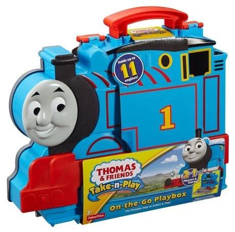 Кейс для хранения Томас  паровозиков серии Take-n-Play фото №1