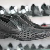 Новинка!!! Летние туфли Мужские натуральная кожа Код: Л-04