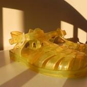 Силиконовые сандалии босоножки