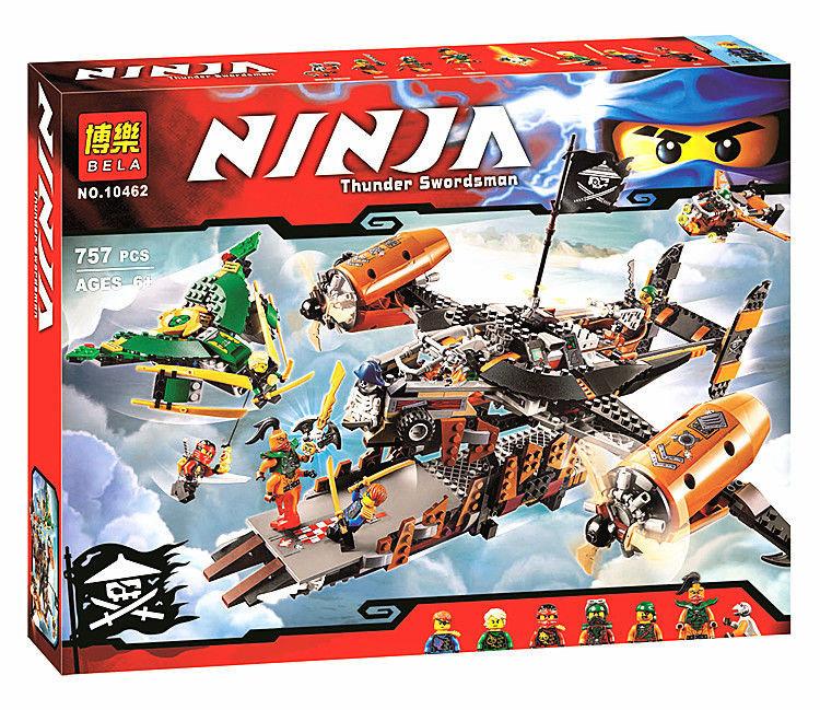 Конструктор ninja 10462 ниндзяго , 757 деталь. фото №1