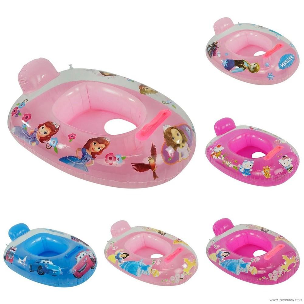 Надувной плотик детский лодочка для плавания  фото №1