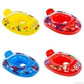 Надувной плотик детский лодочка для плавания 10 видов