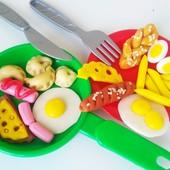 Набор игрушечной еды (2-6 см)