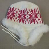Зимняя шапку Tu-tu на овчине, ОГ 50-54, новая без бирки