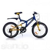 Азимут Динамик 20 дюймов Azimut Dinamic G детский горный велосипед двухподвес