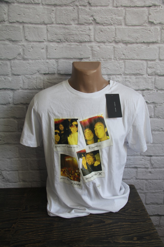Мужская футболка  от ZARA новая фото №1